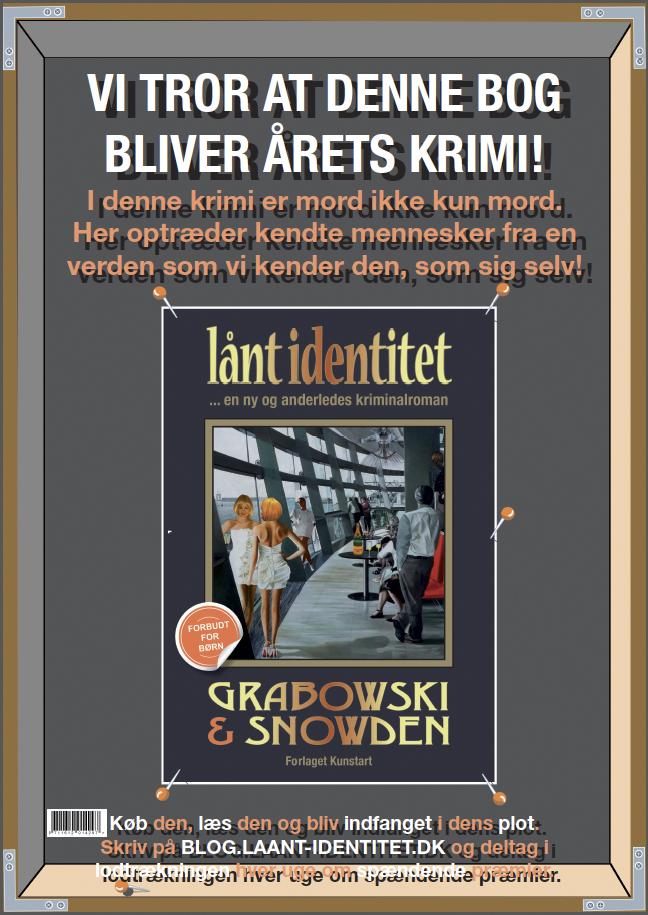 Lånt identitet - Plakat